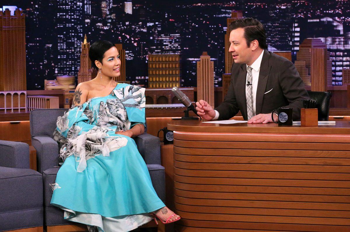 Halsey On 'Jimmy Fallon': Singer Talks Evan Peters, 'Manic' & More