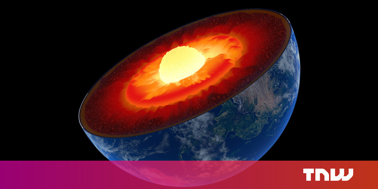 Gravitational forces stop Earth's asymmetrical core from tipping us over