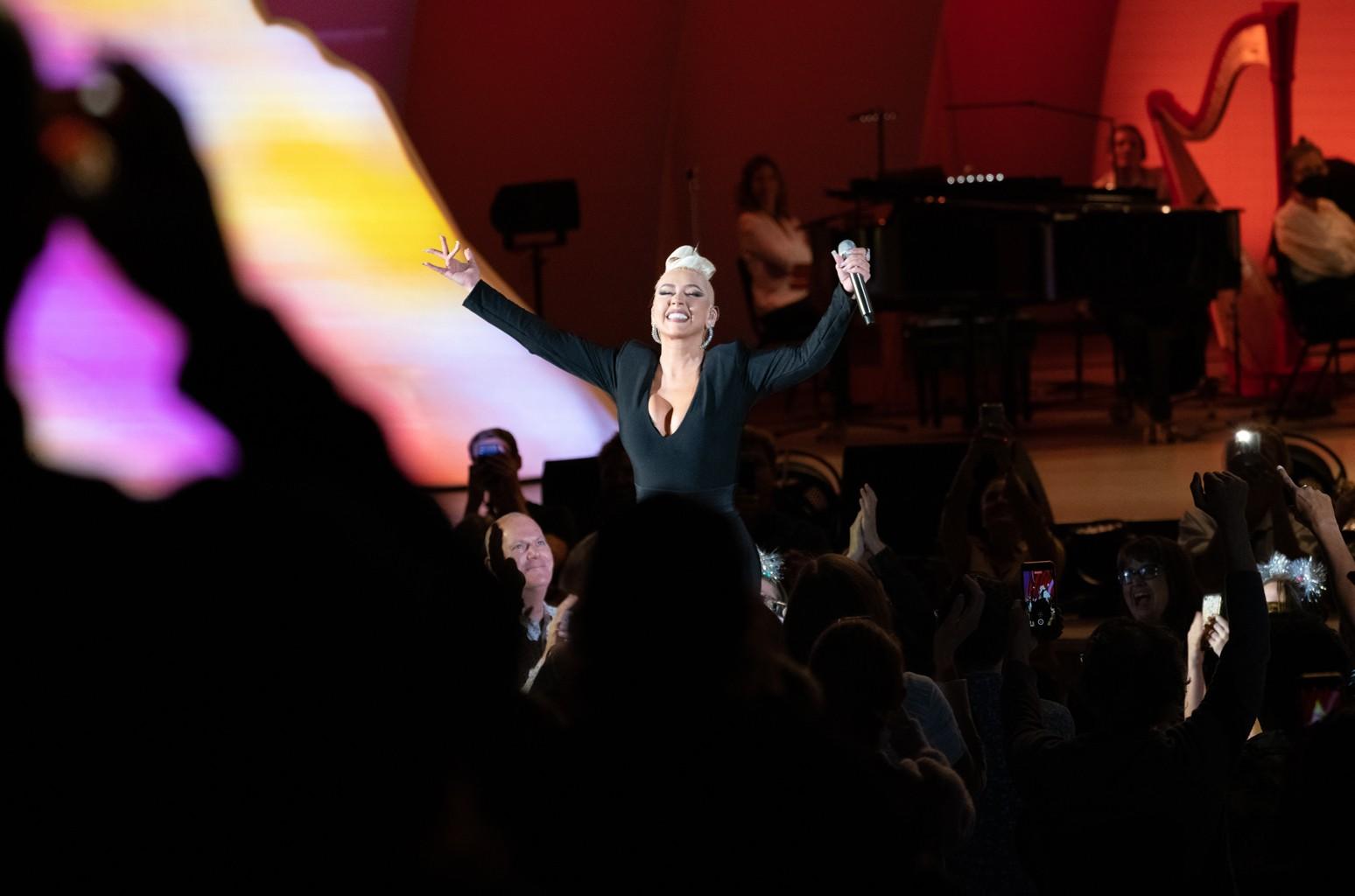 My First Show Back: Christina Aguilera at Hollywood Bowl
