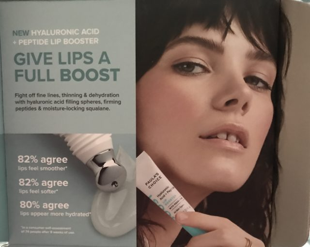 Paula's Choice Hyaluronic Acid + Peptide Lip Booster – Never Say Die Beauty