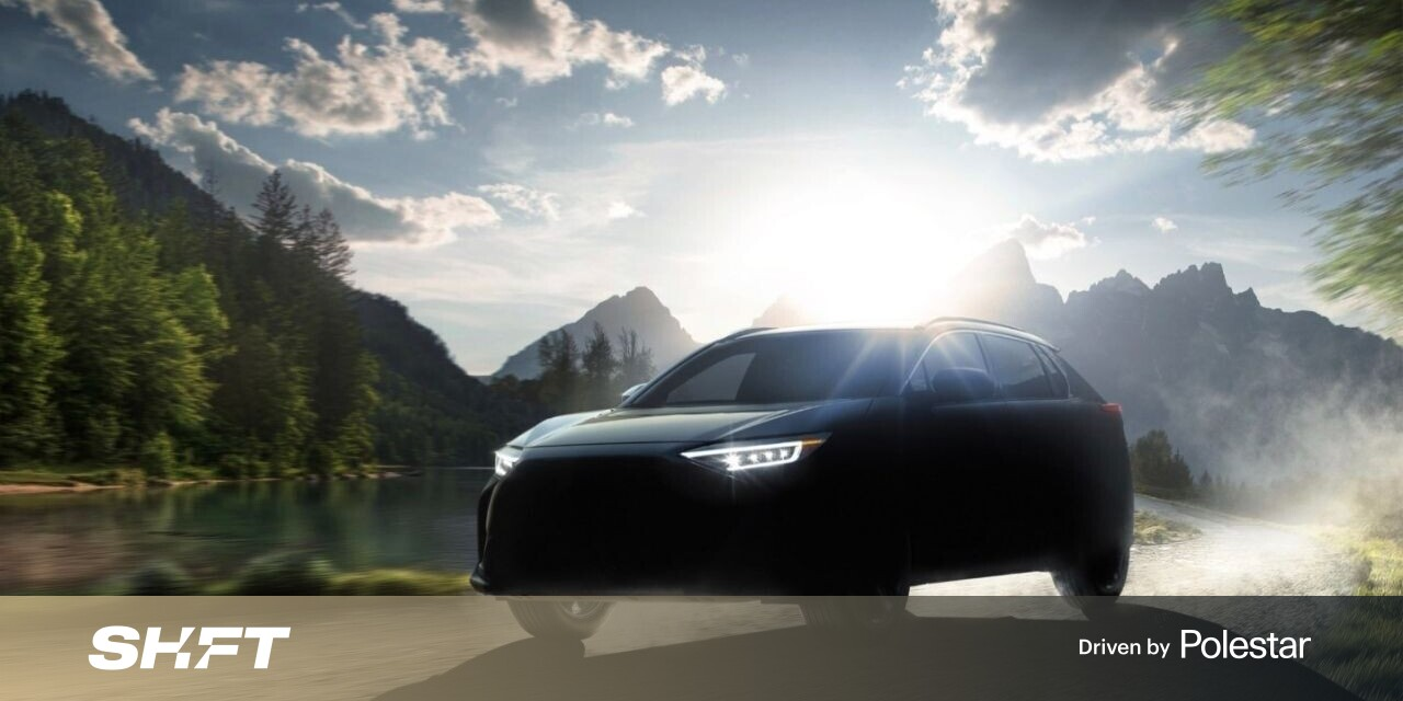 We finally get a good look at Subaru's first EV: the Solterra